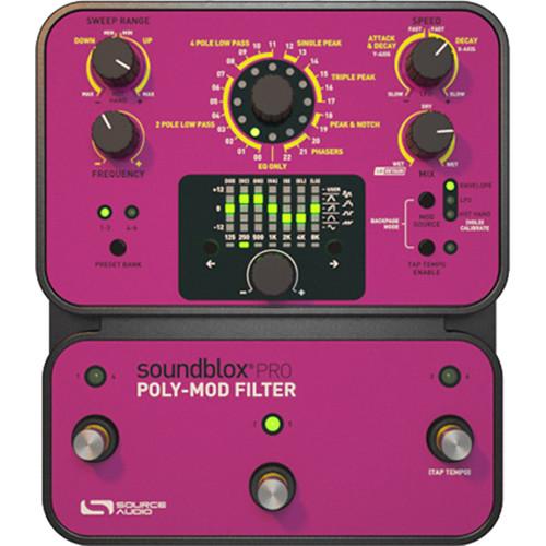 SOURCE AUDIO Soundblox Pro Poly-Mod Filter Pedal