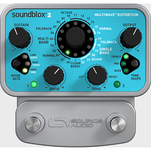 SOURCE AUDIO Soundblox 2 Multiwave Distortion Pedal