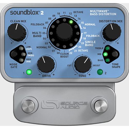 SOURCE AUDIO Soundblox 2 Multiwave Bass Distortion Pedal