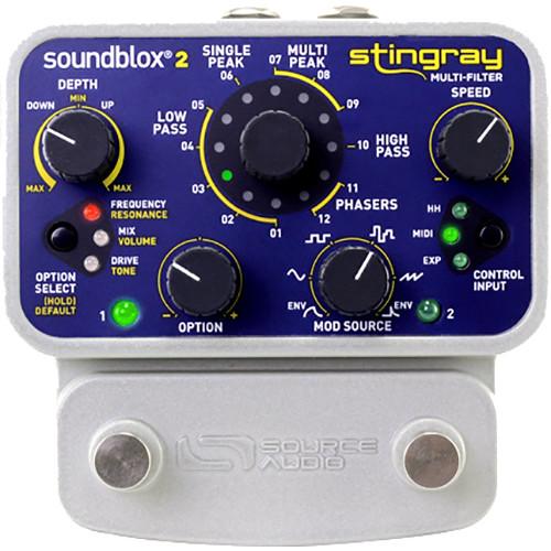 SOURCE AUDIO Soundblox 2 Stingray Multi-Filter Pedal