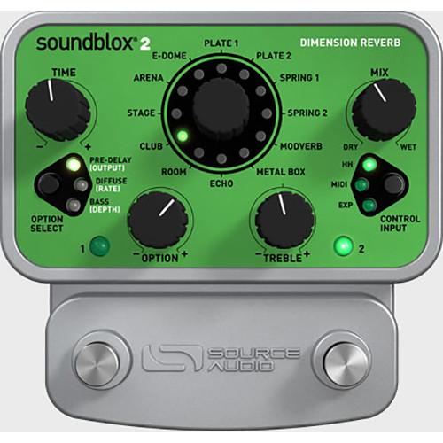 SOURCE AUDIO Soundblox 2 Dimension Reverb Pedal