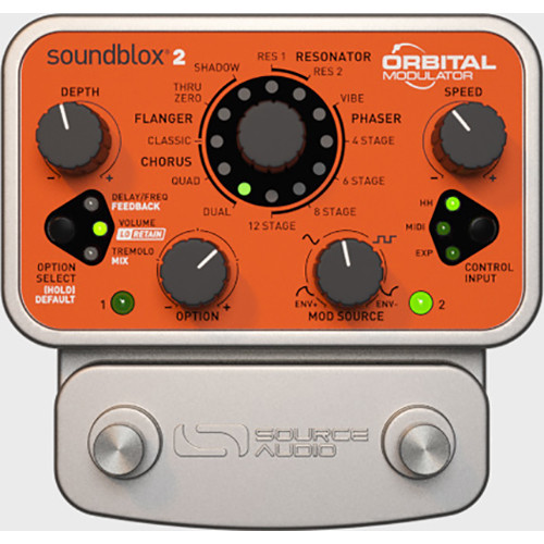 SOURCE AUDIO Soundblox 2 Orbital Modulator Pedal