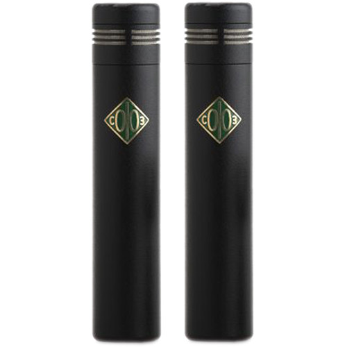 Soyuz Microphones Matched Pair of SU-013 Small Diaphragm FET Microphones (Black)