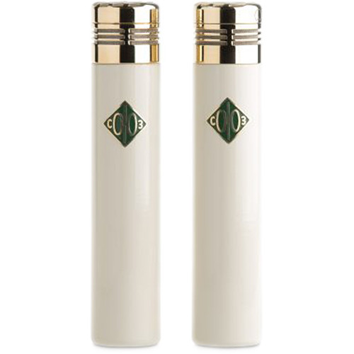Soyuz Microphones Matched Pair of SU-013 Small-Diaphragm FET Microphones (Cream/Brass)