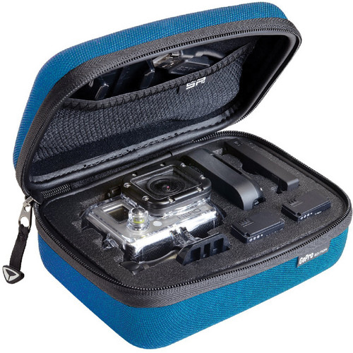 SP-Gadgets POV Case for GoPro Cameras (Extra Small, Blue)