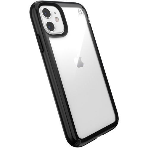 Speck Presidio Show Case for iPhone 11 (Clear/Black)