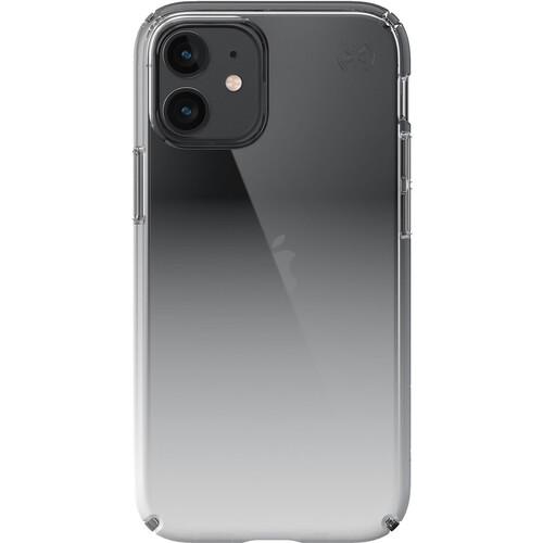 Speck Presidio Perfect-Clear Ombre Smartphone Case for Apple iPhone 12 mini (Clear/Ombre)