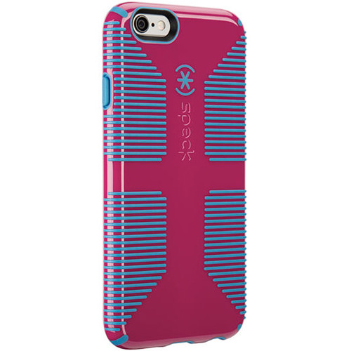 Speck CandyShell Grip Case for iPhone SE (Lipstick Pink/Jay Blue)