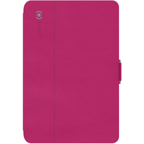 Speck StyleFolio Case for iPad mini 4 (Fuchsia Pink / Nickel Gray)