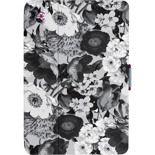 Speck StyleFolio Case for iPad mini 4 (Vintage Bouquet Gray / Boysenberry Purple)