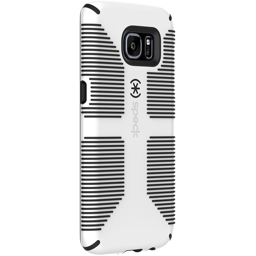 Speck CandyShell Grip Case for Galaxy S7 (White/Black)