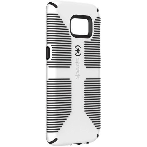 Speck CandyShell Grip Case for Galaxy S7 edge (White/Black)