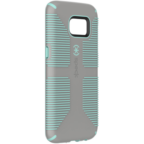 Speck CandyShell Grip Case for Galaxy S7 edge (Sand Gray/Aloe Green)