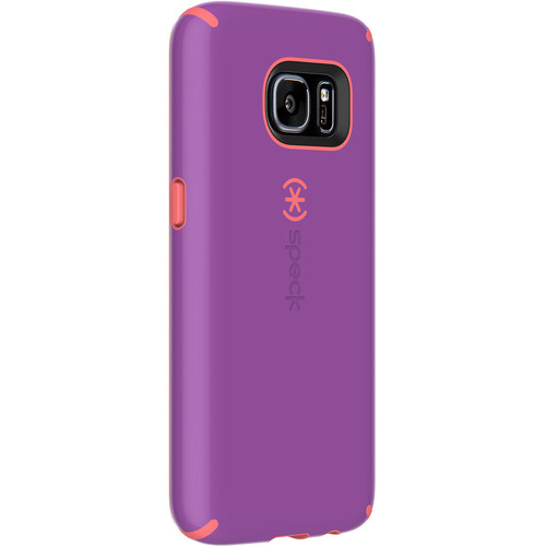 Speck CandyShell Case for Galaxy S7 (Revolution Purple/Warning Orange)