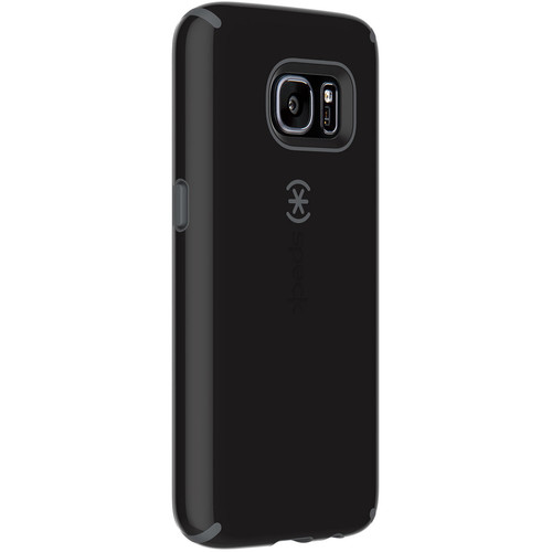 Speck CandyShell Case for Galaxy S7 (Black/Slate Gray)