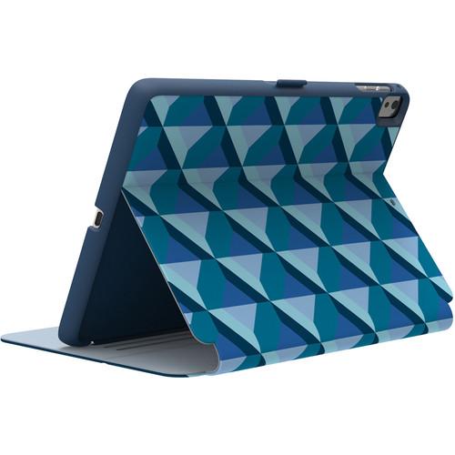 "Speck StyleFolio Case for 9.7"" iPad Pro (Playa Geo Blueberry/Dolphin Gray/Deep Sea Blue)"