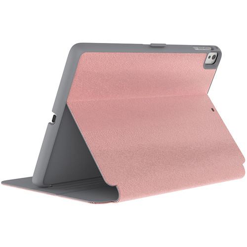 "Speck StyleFolio Luxury Edition Case for 9.7"" iPad Pro (Metallic Ponyhair Rose Gold & Graphite Gray)"