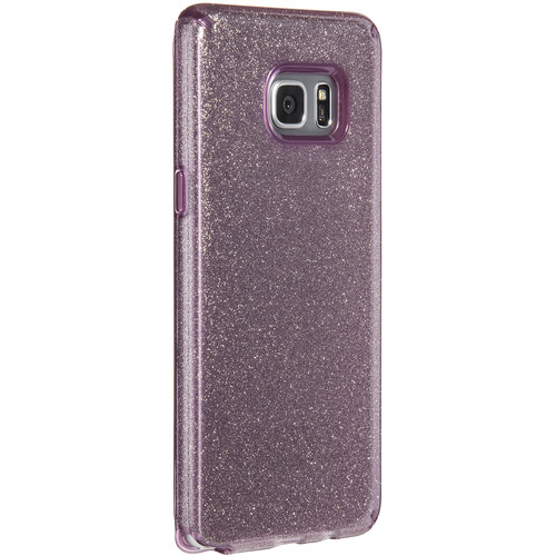 Speck CandyShell Clear Case for Galaxy Note 7 (Beaming Orchid/Gold Glitter)