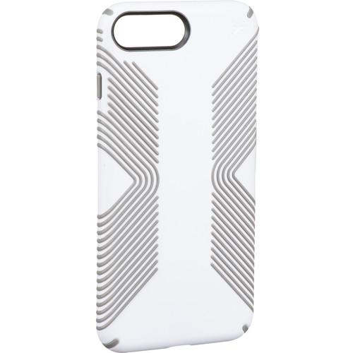 Speck Presidio Grip Case for iPhone 7 (White/Ash Gray)