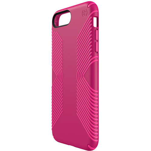 Speck Presidio Grip Case for iPhone 7 Plus (Lipstick Pink/Shocking Pink)