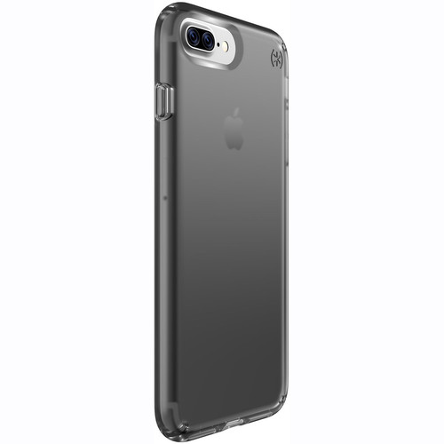 Speck Presidio Clear Case for iPhone 7 Plus (Onyx Black Matte)