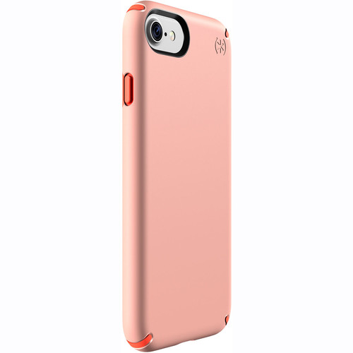 Speck Presidio Case for iPhone 7 (Sunset Peach/Warning Orange)
