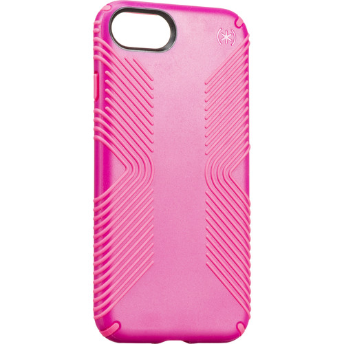 Speck Presidio Grip Case for iPhone 7 (Lipstick Pink/Shocking Pink)