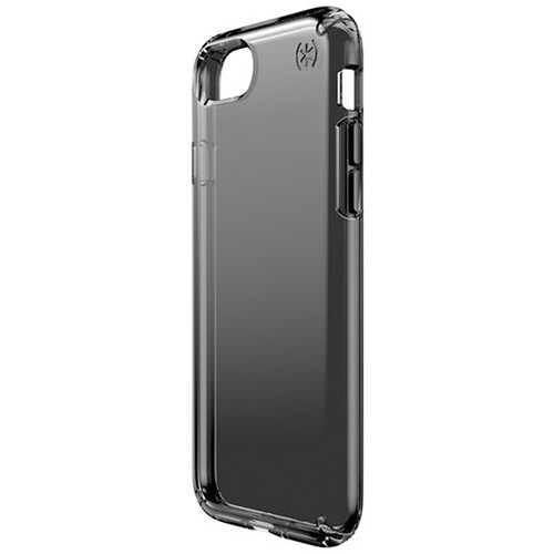 Speck Presidio Clear Case for iPhone 7 (Onyx Black Matte)