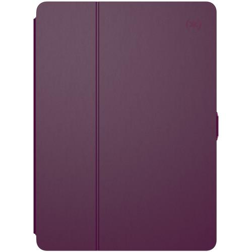 "Speck Balance FOLIO Case for iPad (2017), 9.7"" iPad Pro, iPad Air, and iPad Air 2 (Syrah Purple/Magenta Pink)"