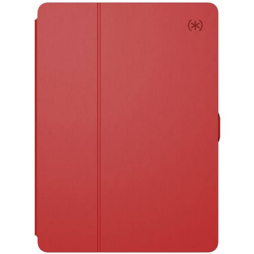"Speck Balance FOLIO Case for iPad (2017), 9.7"" iPad Pro, iPad Air, and iPad Air 2 (Dark Poppy/Velvet Red)"
