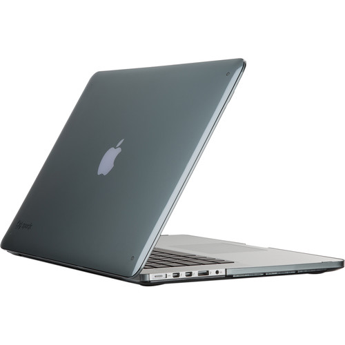"Speck SeeThru Case for 15"" MacBook Pro with Retina Display (Nickel Grey)"
