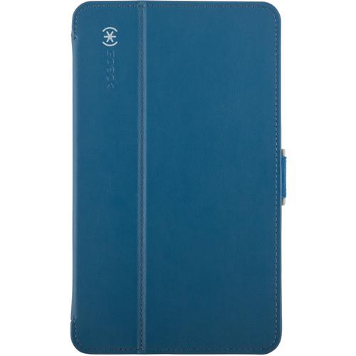 "Speck StyleFolio Case for 8"" Samsung Galaxy Tab 4 (Deep Sea Blue/Nickel Gray)"