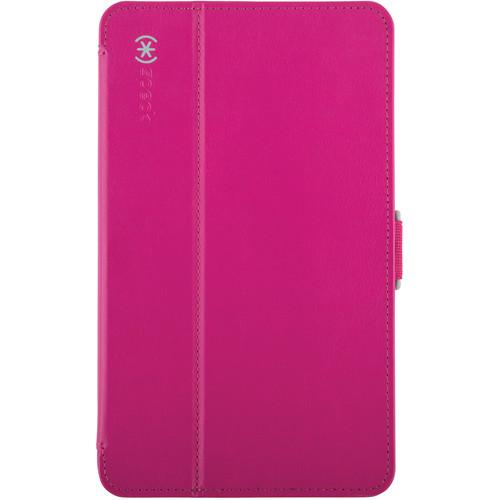 "Speck StyleFolio Case for 8"" Samsung Galaxy Tab 4 (Fuchsia Pink/Nickel Gray)"