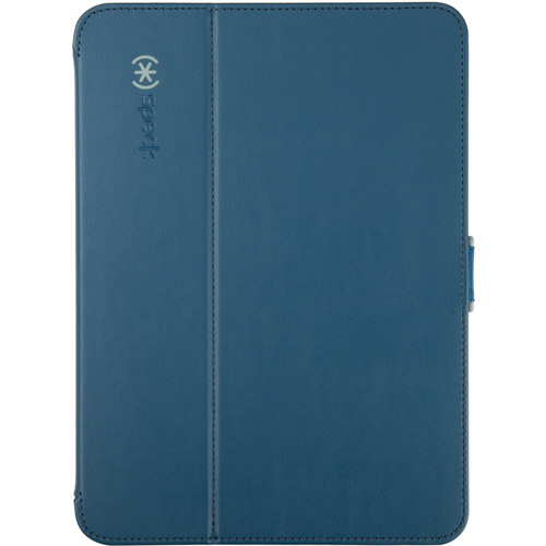 "Speck StyleFolio Case for 10.1"" Samsung Galaxy Tab 4 (Deep Sea Blue/Nickel Gray)"