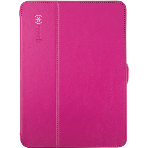 "Speck StyleFolio Case for 10.1"" Samsung Galaxy Tab 4 (Fuchsia Pink/Nickel Gray)"