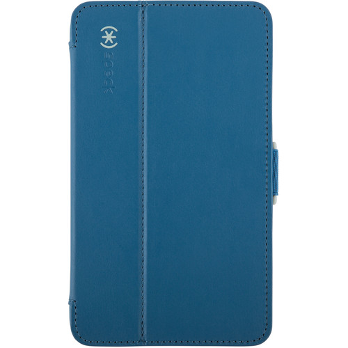 "Speck StyleFolio Case for 7"" Samsung Galaxy Tab 4 (Deep Sea Blue/Nickel Gray)"