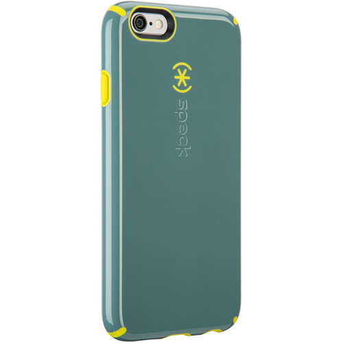 Speck CandyShell Case for iPhone 6/6s (Heritage Gray/Antifreeze Yellow)
