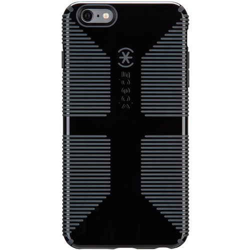 Speck CandyShell Grip Case for iPhone 6 Plus/6s Plus (Black/Slate Gray)