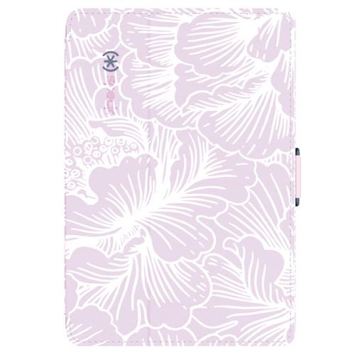 Speck StyleFolio Case for iPad mini 1, 2, & 3 (Fresh Floral Pink/Nickel Gray)