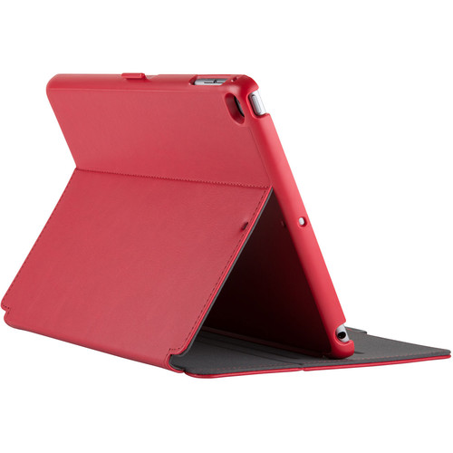 Speck StyleFolio Case for iPad Air 2 (Dark Poppy Red/Slate Gray)