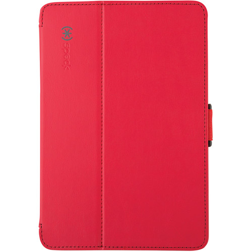 Speck StyleFolio Case for iPad mini 1, 2, & 3 (Dark Poppy Red/Slate Gray)