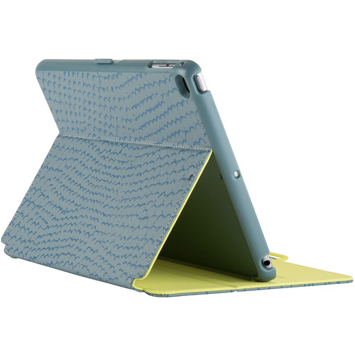Speck StyleFolio Case for iPad Air 2 (RattleSkin Grey/Anti-Freeze Yellow)