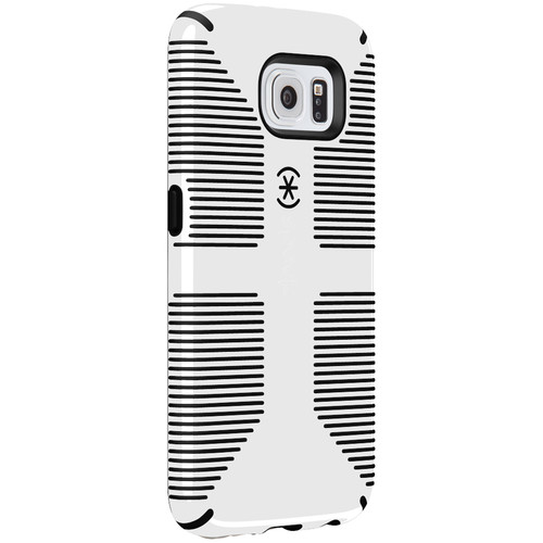 Speck CandyShell Grip Case for Galaxy S6 (White/Black)