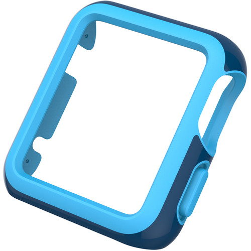 Speck CandyShell Fit Case for 38mm Apple Watch (Deep Sea Blue/Maya Blue)