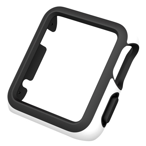 Speck CandyShell Fit Case for 38mm Apple Watch (White/Black)