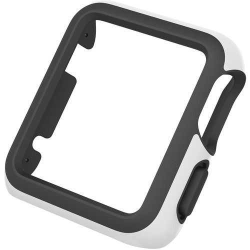 Speck CandyShell Fit Case for 42mm Apple Watch (White/Black)