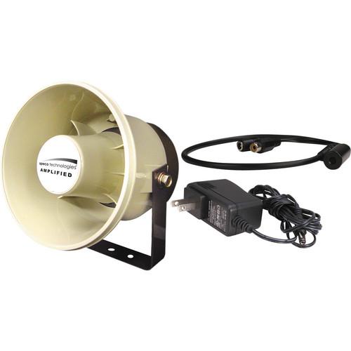 "Speco Technologies 2WAK4 Two-Way DVR Audio Kit with 6"" 20W PA Speaker & Line-Level Microphone"
