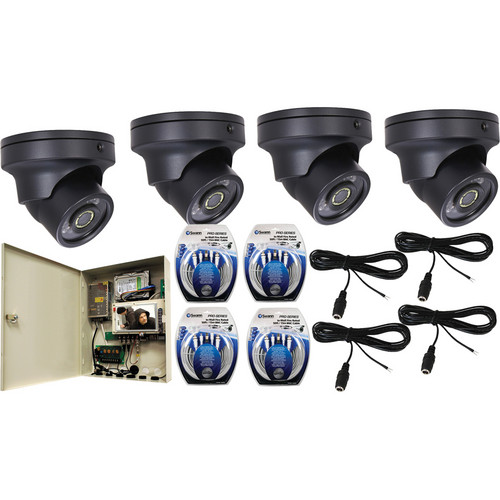 Speco Technologies Speco 4-Channel IR Covert Outdoor Surveillance Kit