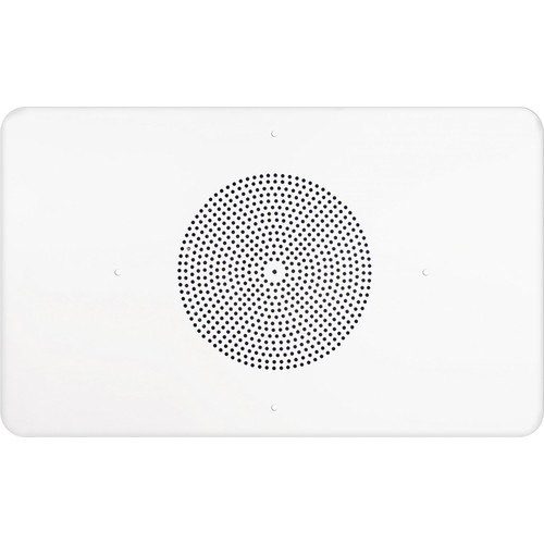 "Speco Technologies 86 Series G86TG1X2 70/25V 1 x 2"" Grille In-Ceiling Contractor Speaker (Off-White)"