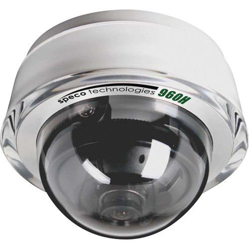 Speco Technologies 960H Diamond Dome Series Miniature Indoor Camera with 3.6mm Fixed Lens